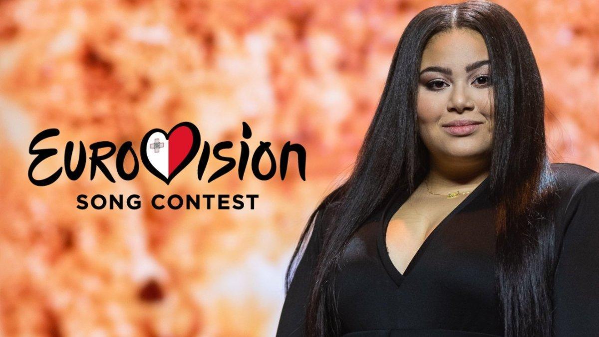 Destiny Chukunyere, representante de Malta en Eurovisión 2020.