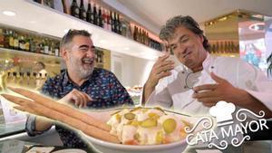 Cata Mayor: la mejor ensaladilla rusa de España, en el resturante Tapas 24, de Carles Abellan.