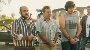 Los tres protagonistas (Pérez Rey, De Lira y Touriñán) participaron activamente en el guion.