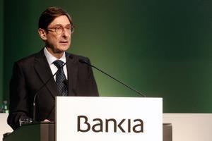 Bankia gana 230 millones de euros en 2020, un 57,6 % menos