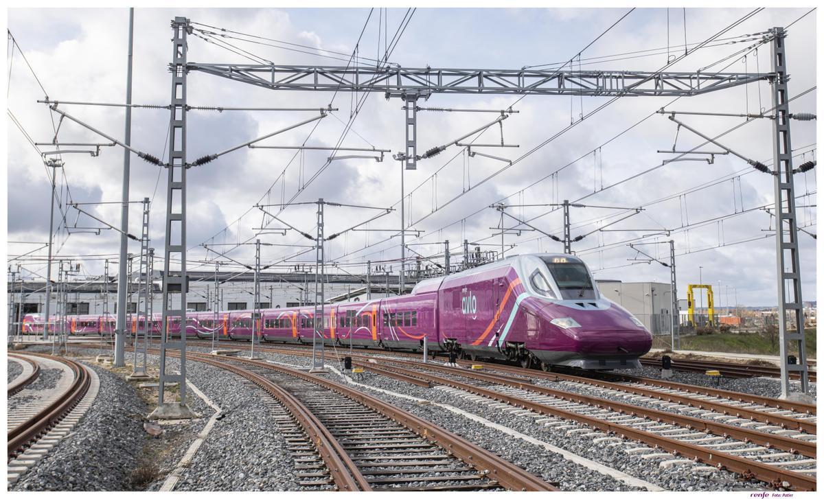 Tren AVE 'low cost' de Renfe AVLO