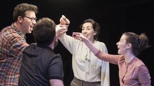 Los actores de La Calòrica en una escena de 'Fairfly'.