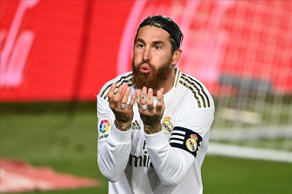 Sergio Ramos acerca al Madrid al título liguero con un gol de penalti ante el Getafe