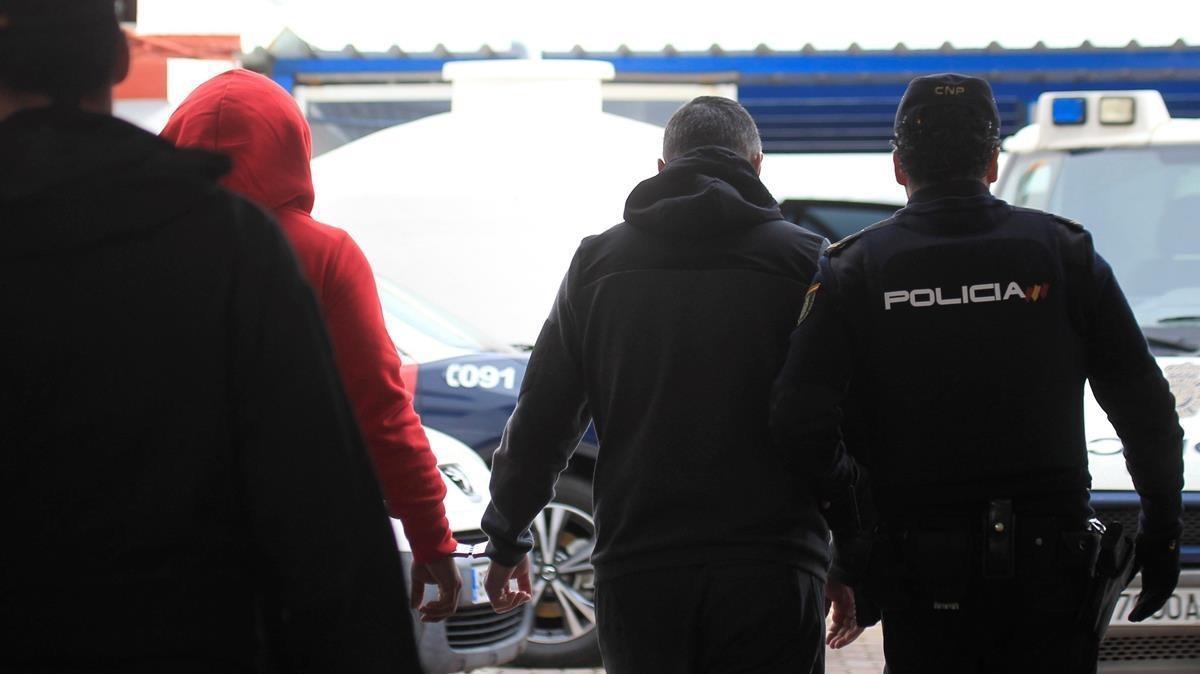 Los dos hermanos detenidos como cabecillas de la fuga de un narco de un hospital, en La Línea de la Concepción.