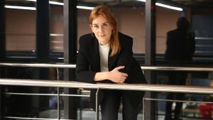 Jéssica Albiach, candidata de En Comú Podem.
