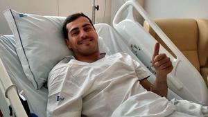 Iker Casillas, en el hospital tras sufrir un infarto