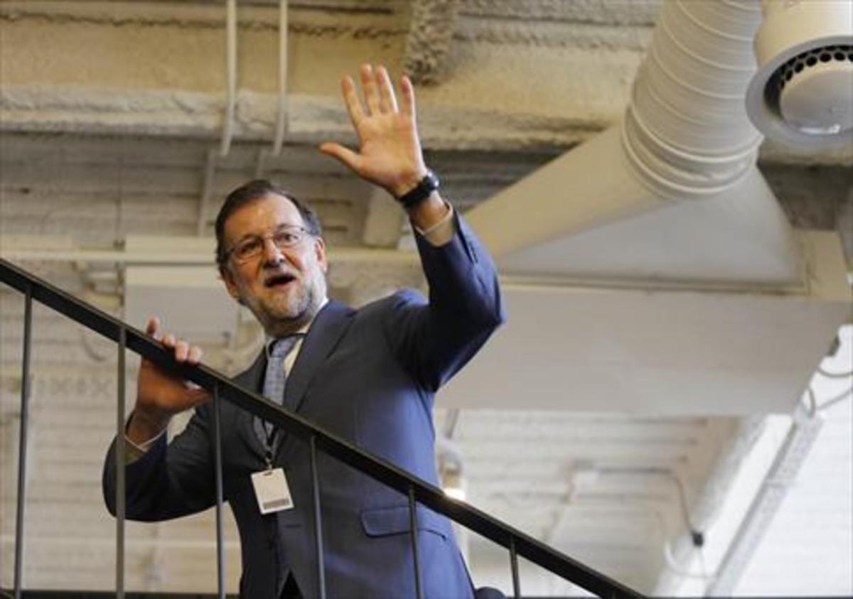 El presidente en funciones, Mariano Rajoy.