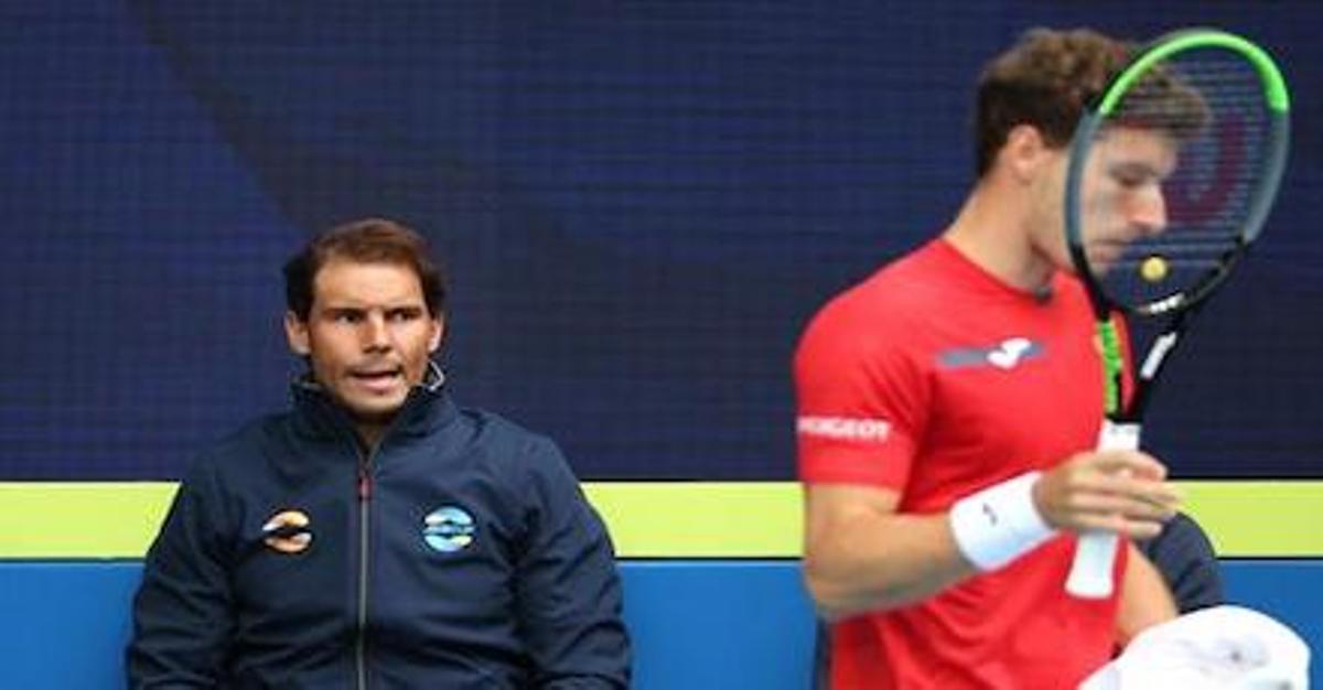 Nadal renuncia a jugar en el seu debut a l'ATP Cup