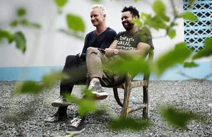 Sting y Shaggy, en una imagen promocional.
