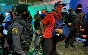 Traslado de pandilleros en cárceles de Guatemala.