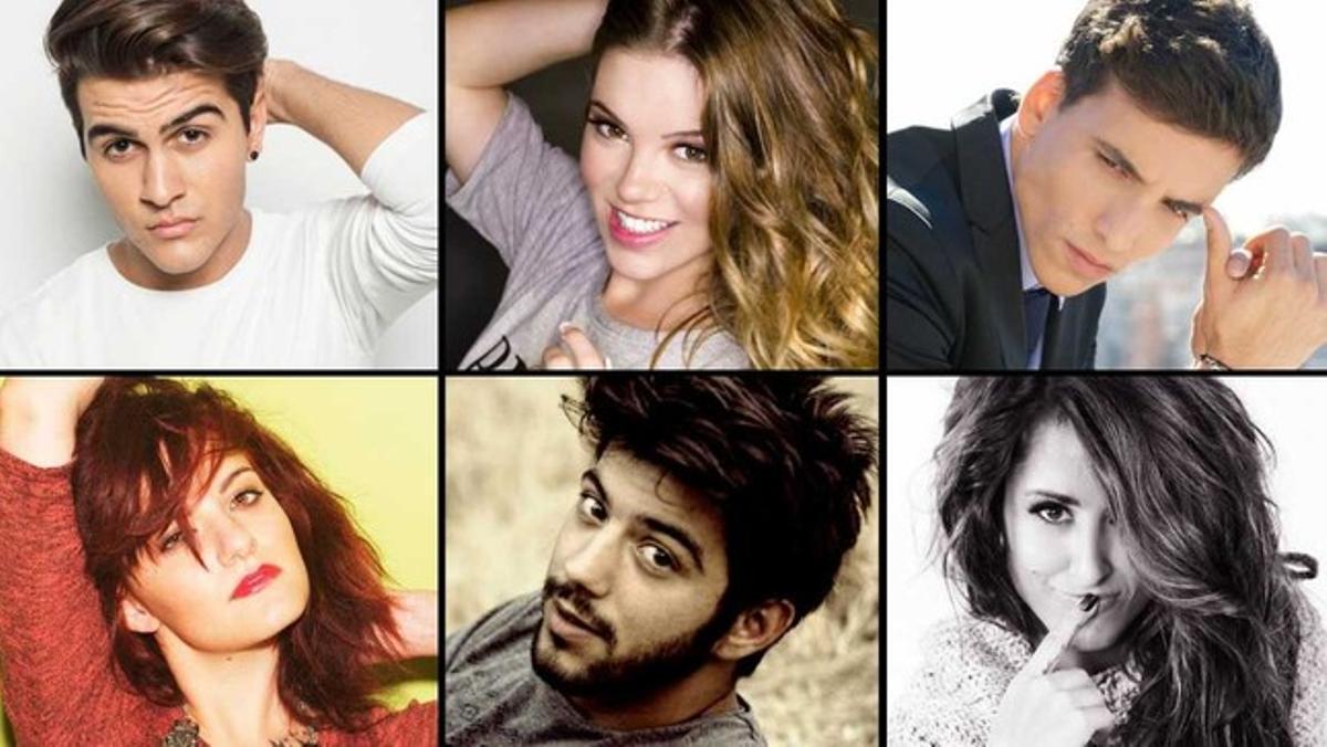 Xuso Jones, Salvador Beltrán, Maverick, María Isabel, Electric Nana y Barei son los artistas que competirán por hacerse un hueco para ir a Estocolmo.