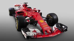 El nuevo Ferrari SF70H, presentado hoy de forma virtual.