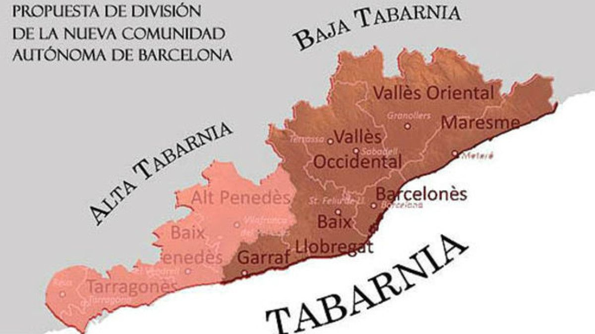"""La RAE propone """"tabarnés"""" como gentilicio de Tabarnia"""