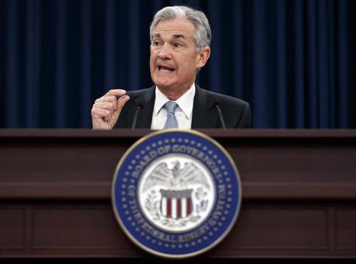 El president de la Reserva Federal nord-americana,JeromePowell.