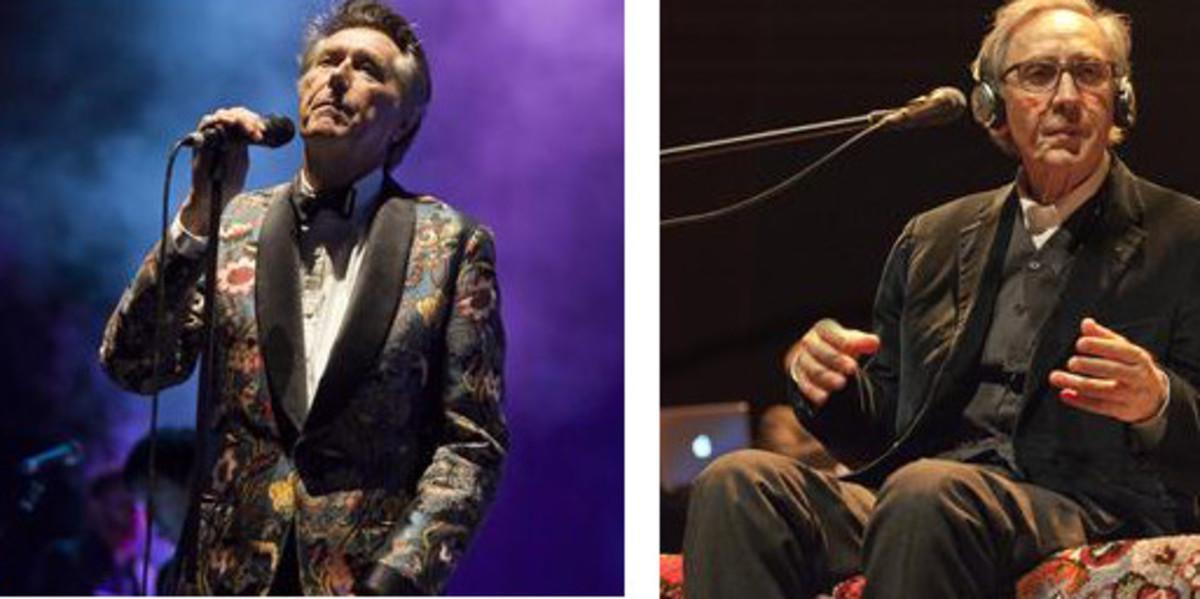 Bryan Ferry y Franco Battiato, que actuarán en julio en el Festival de Peralada.