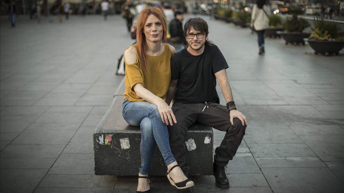 Violet Ferrer y Nac Bermon.
