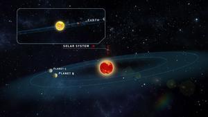 Descubiertos dos planetas similares a la Tierra con condiciones para la vida.