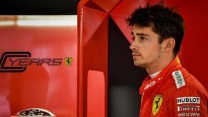 El monegasco Charles Leclerc ha sido hoy, en Sochi, el más rápido con su Ferrari.