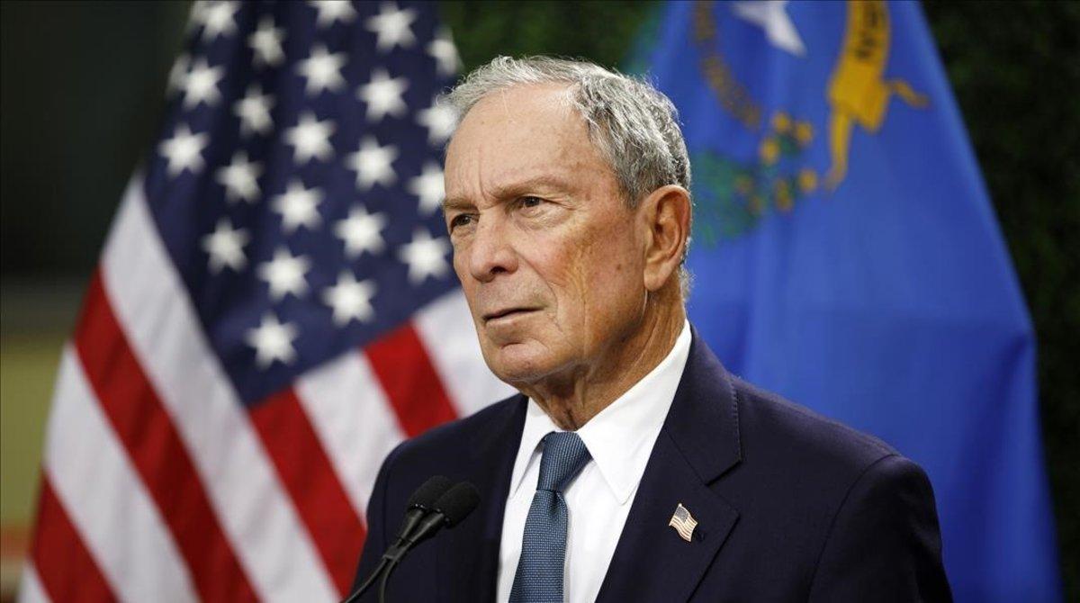 Michael Bloomberg, exalcalde de Nueva York.