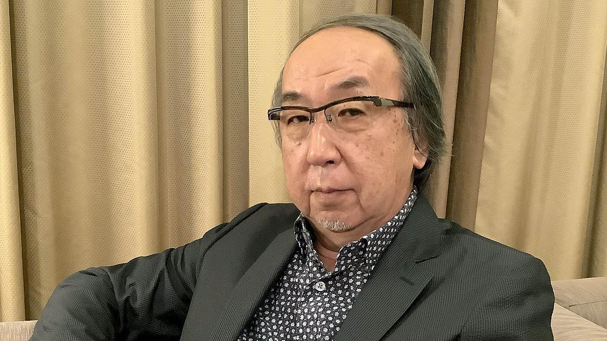 El escritor japonés de novela negra Hideo Yokoyama.