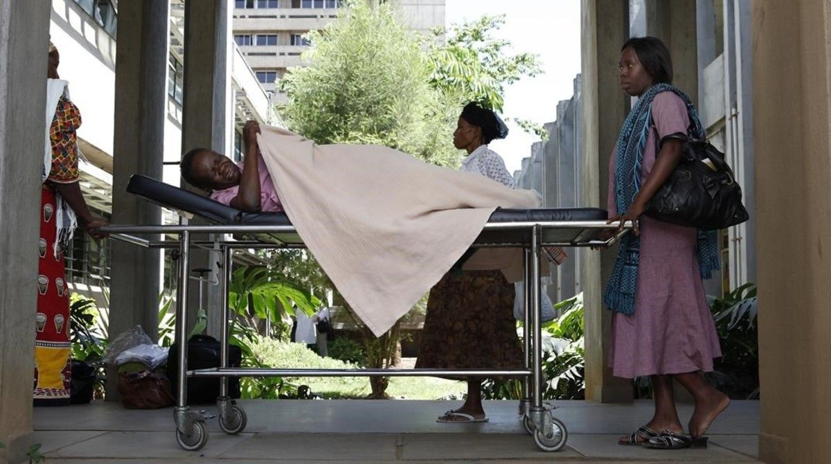 Un hospital en Nairobi (Kenia).