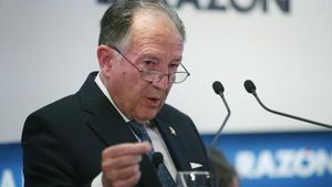 El ya exdirector del Centro Nacional de Inteligencia (CNI),Félix Sanz Roldán.