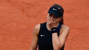 Paula Badosa accede a los cuartos de final del torneo de tenis de Roland Garros en Paris
