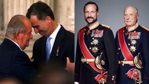 Del incendio español a la calma noruega: chequeo a la realeza europea