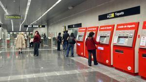 Estación de metro de Lesseps, en una imagen de archivo.