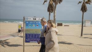Primers confinaments a la costa mediterrània per l'arribada de turistes madrilenys