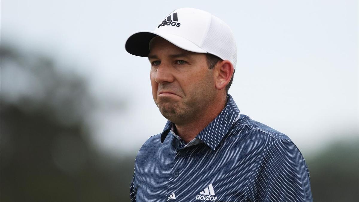 Sergio García, durante la segunda ronda del Masters.