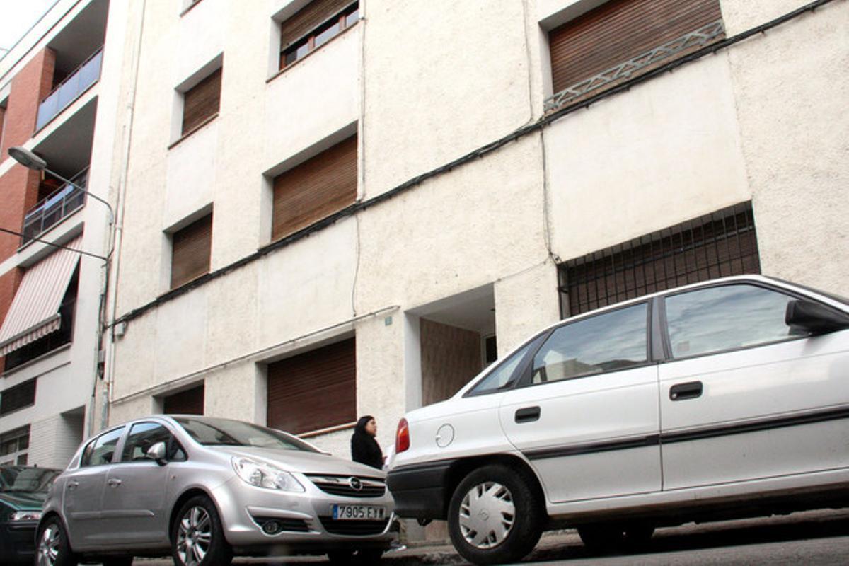 La pareja vivía en la calle Montseny, del barrio de Santa Eugènia de Girona.