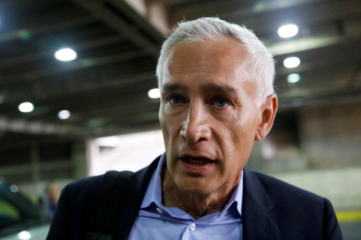 Jorge Ramos, periodista mexicano de la cadena Univision.