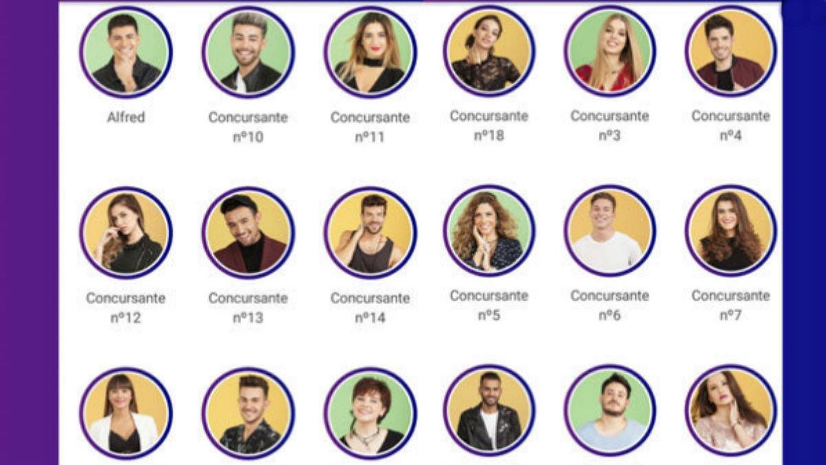 Los 18 concursantes que entrarán en la academia de 'OT 2017'.