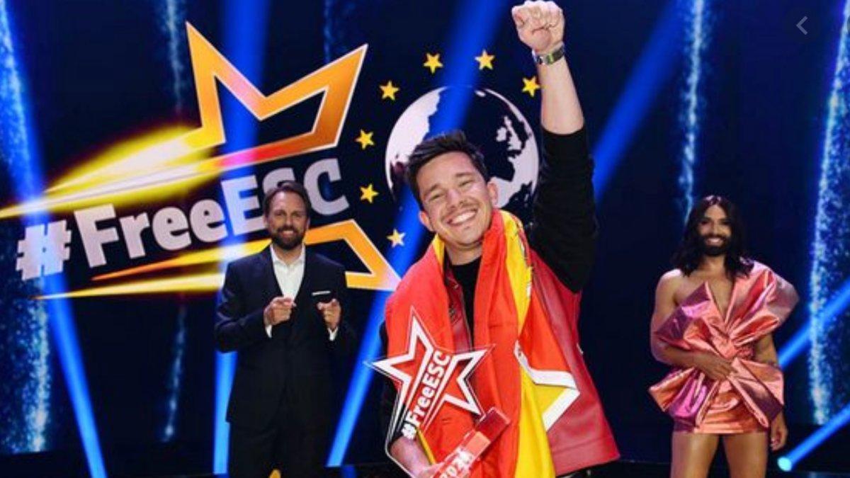 Nico Santos, ganador de la primera edición del 'Free ESC'.