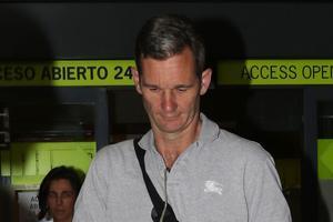 Iñaki Urdangarin, a su llegada a Madrid para ingresar en la cárcel de Brieva.