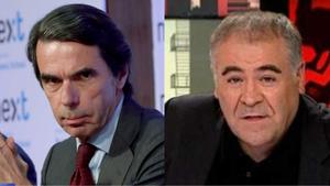 """Aznar lanza un 'recadito' a Ferreras y él responde: """"Sobre el 11M fue un mentiroso"""""""