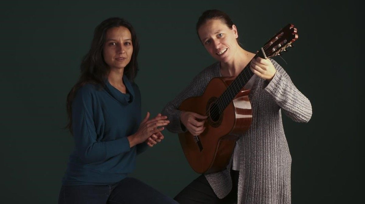 Isabel Vinardell e Isabelle Laudenbach.