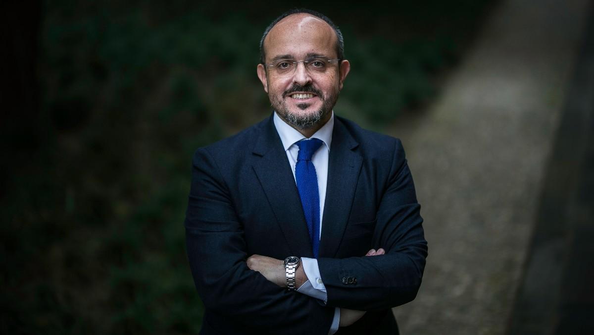 Alejandro Fernández, líder del PPC.