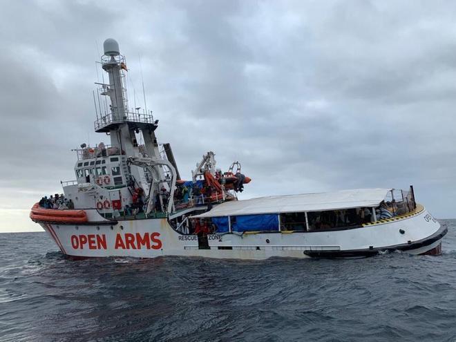 Barcelona reclamará a Salvini daños patrimoniales por bloqueo barco Open Arms