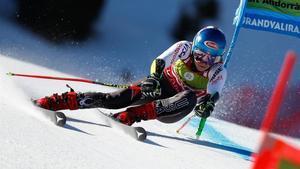 Shiffrin s'acomiada en gran d'Andorra amb una altra victòria en gegant