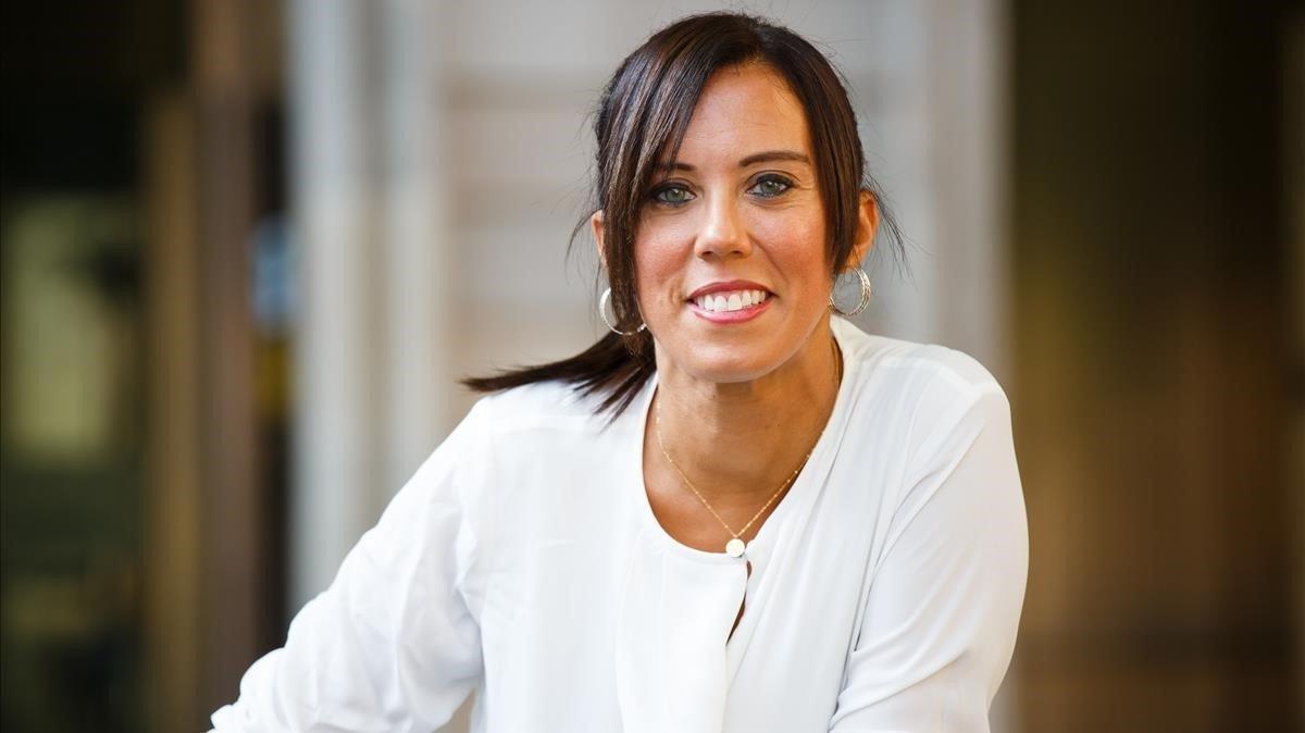 Marta Farrés, alcaldesa de Sabadell, posa para EL PERIÓDICO.