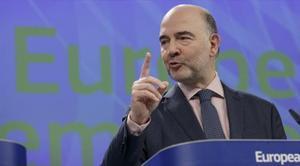 El eurocomisario de Economía y Asuntos Financieros, Pierre Moscovici.