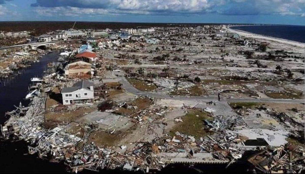 Miles de casas destruidas en Bahamas por el paso de huracán Dorian.