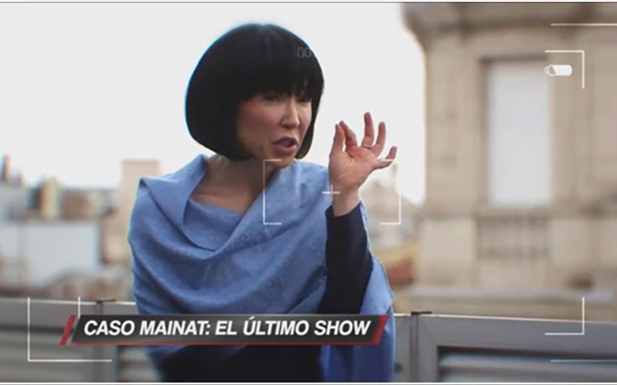 Ángela Dobrowolski en exclusiva,Cuatro.