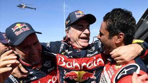 Carlos Sainz gana su tercer Dakar.