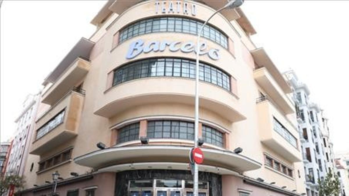 Teatro Barceló donde se celebró una fiesta sin mascarillas.