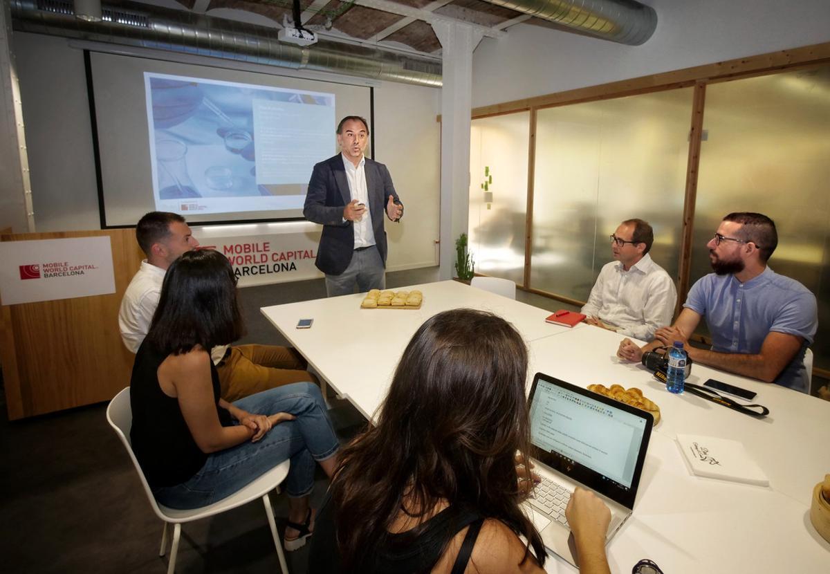 Programa de formación en el marco del proyecto Colider, del Mobile World Capital.