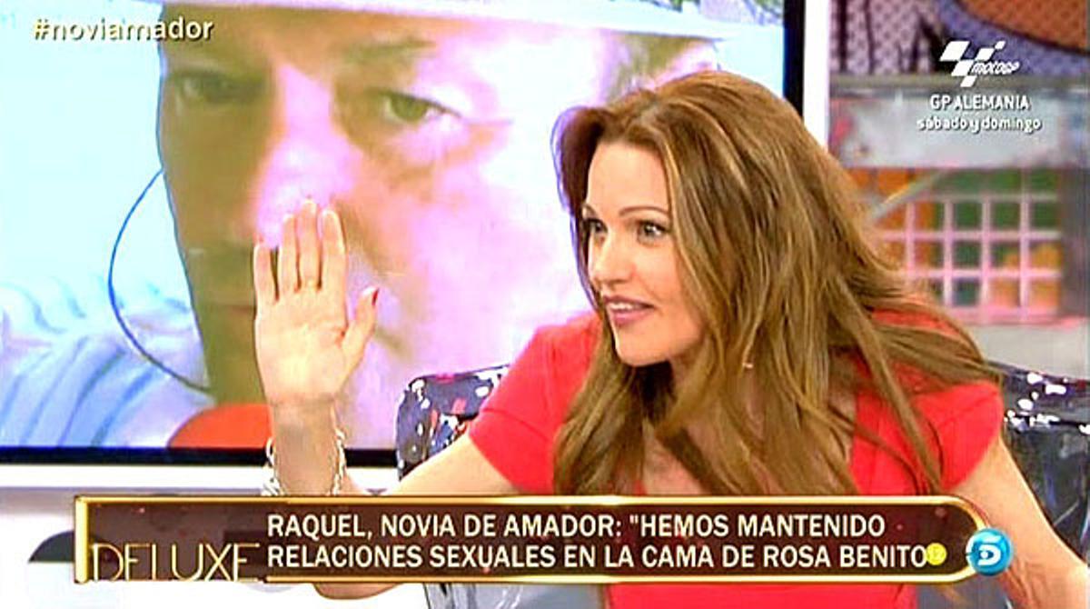 Raquel Moragues, la última amante de Amador (`Deluxe¿, T-5).
