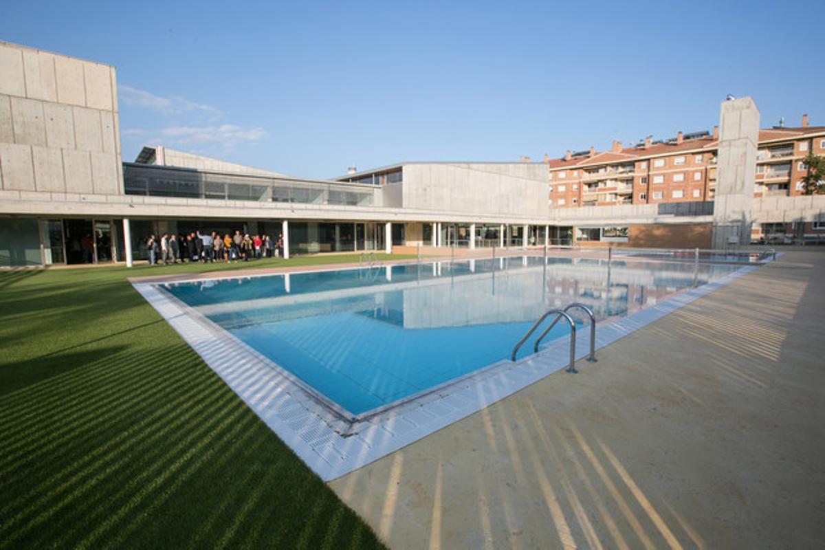 El complejo deportivo Podium Viladecans Joan Masgrau se inauguró el pasado mes de junio